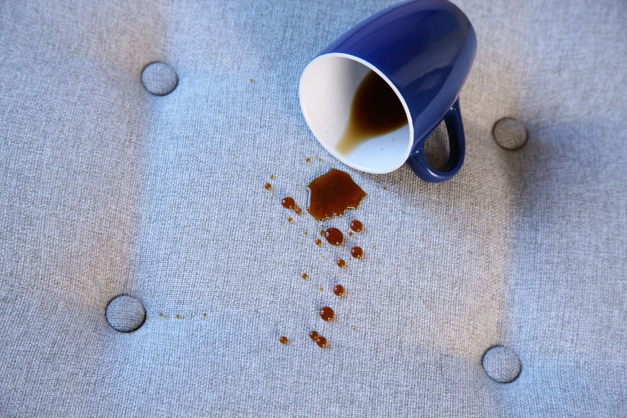 Couch coffee stain removal Melbourne